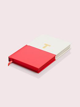 ステーショナリー ディップイニシャルノートブック