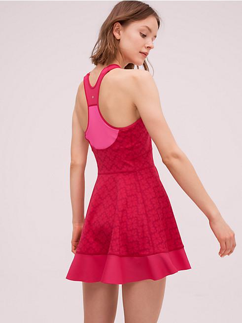 フローラル スペード テニス ドレス
