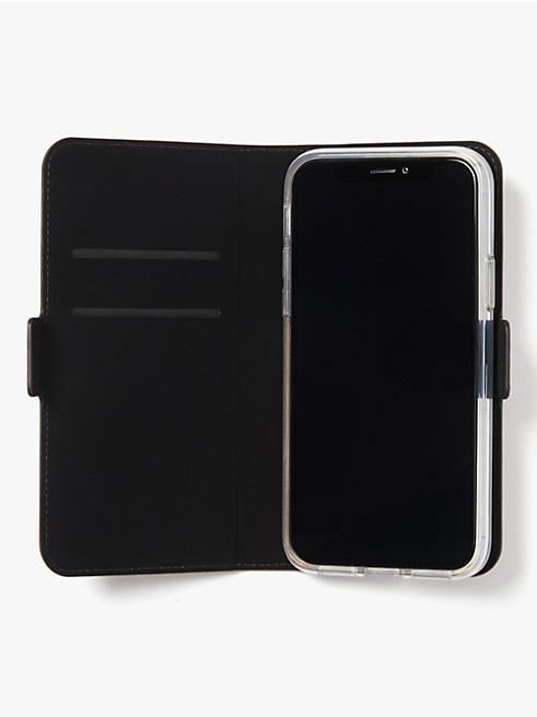 アイフォン ケース スペード フラワー PVC フォリオ 11 Pro