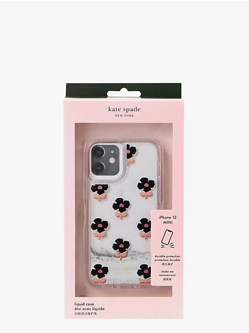 アイフォン ケース ブロック フラワー ケース 12 mini