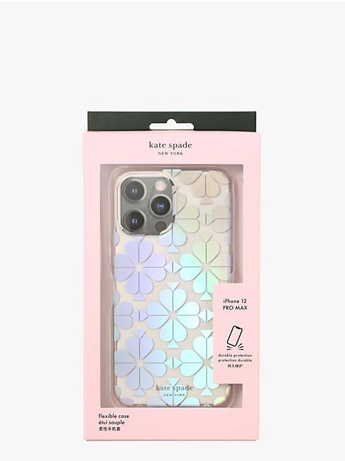 アイフォン ケース スペード フラワー 12 pro max