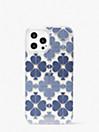 トーナル スペード フラワー アイフォン 12 pro max ケース