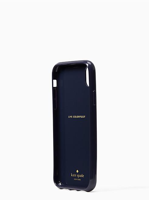 アイフォンケース グリッター プチ ポージー - XR