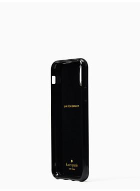 アイフォンケース オンブル ハート スタンド - X & XS