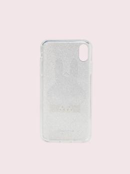 アイフォンケース グリッター マニー バニー - XS Max