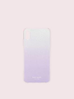 アイフォンケース グリッター オンブル - XR