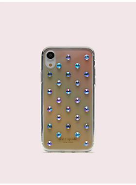 アイフォンケース オンブル リア ドット - XR