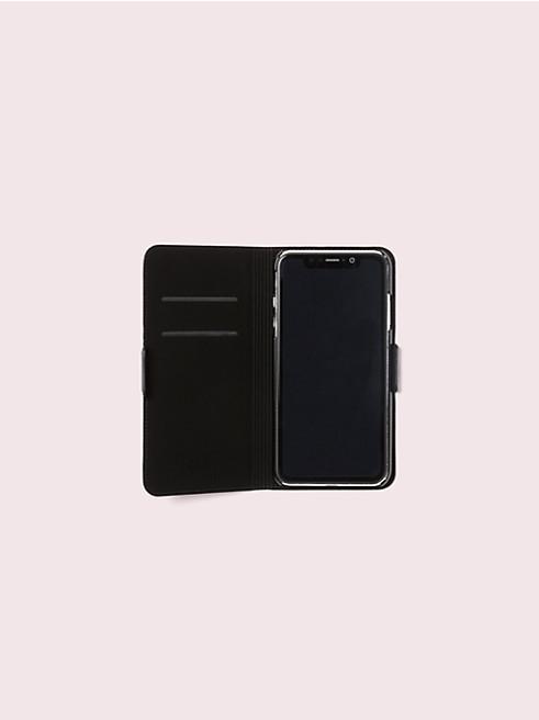 アイフォンケース ワイルドフラワー フォリオ - XS Max