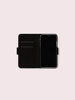 アイフォンケース ワイルドフラワー フォリオ - XR