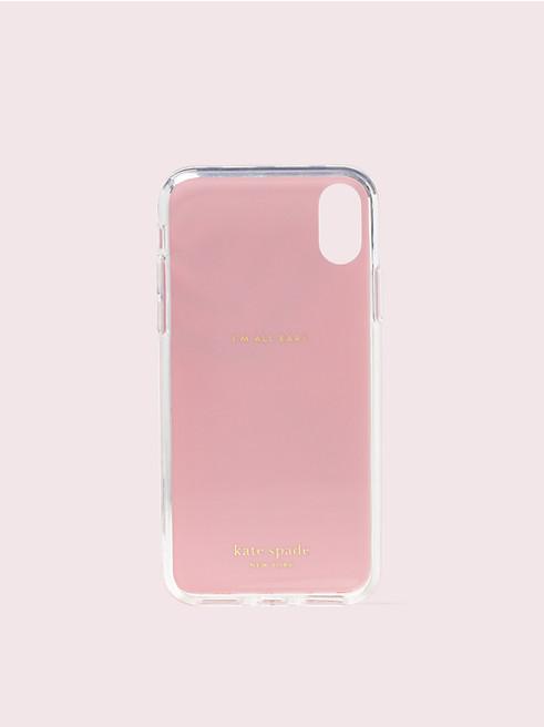 アイフォン ケース グリッター ジオブレラ - X & XS