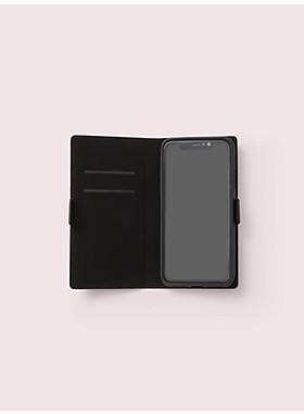 アイフォン ケース グリッター マグネティック フォリオ  - XS