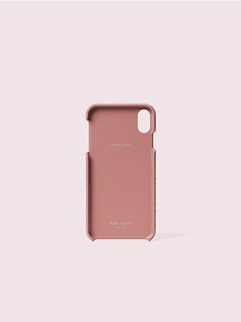 アイフォン ケース グリッター インレイ  - xs max