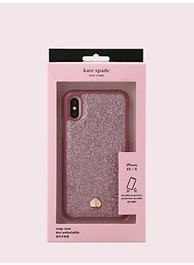 アイフォン ケース グリッター インレイ - XS