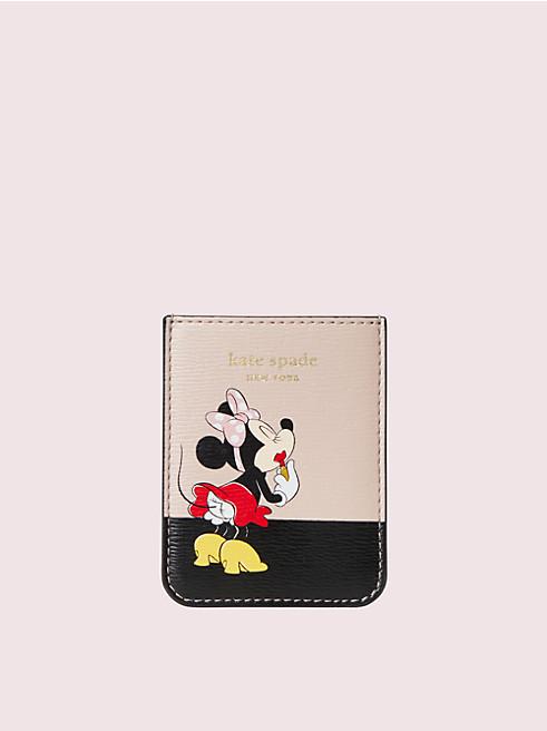 テックアクセサリー ミニー マウス ステッカー ポケット