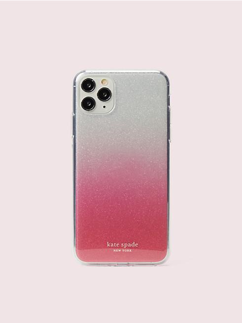 アイフォン ケース グリッター オンブル - 11 PRO MAX