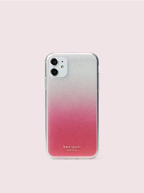 アイフォン ケース グリッター オンブル - 11 & XR