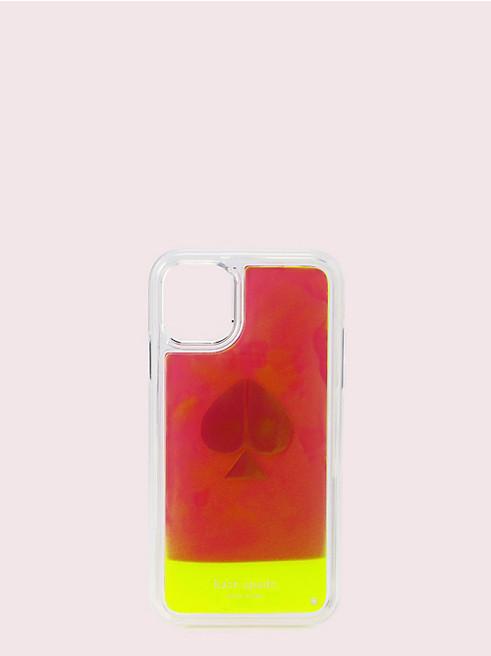 アイフォン ケース キープセイク コーナー ネオン サンド - 11 & XR