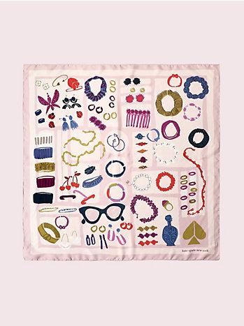ジュエリー ボックス シルク スカーフ