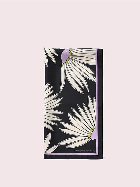 フォーリング フラワー シルク オブロング スカーフ
