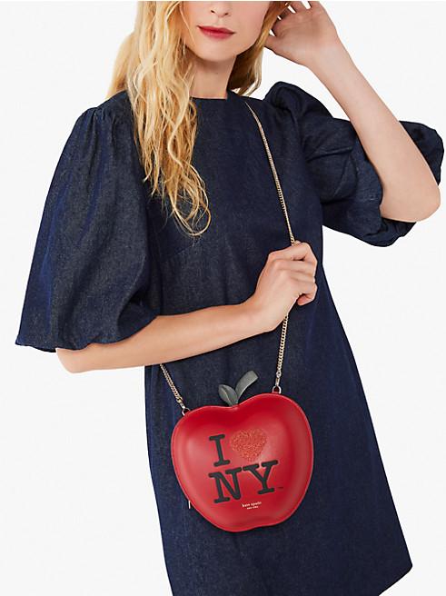 アイ ラブ ニューヨーク X ケイト スペード ニューヨーク ビッグ アップル クロスボディ