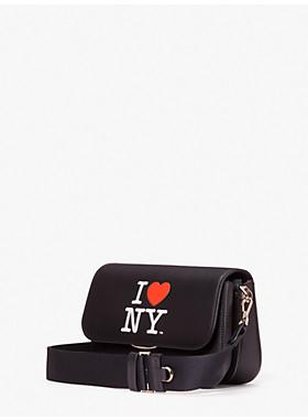 アイラブ ニューヨーク X ケイト スペード ニューヨーク バディ ミディアム ショルダーバッグ