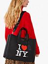アイ ラブ ニューヨーク X ケイト スペード ニューヨーク マンハッタン ラージ トート