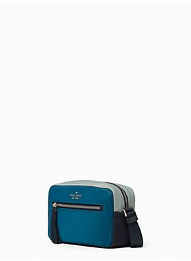 チェルシー ザ リトル ベター トリコロール カラーブロック ナイロン カメラ バッグ