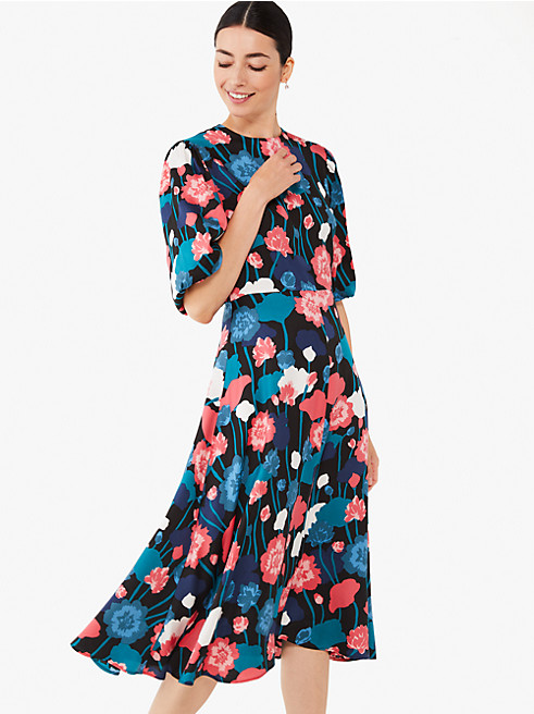 バイニー フローラル マチネー ドレス