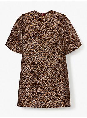 レオパード タクシー ドレス