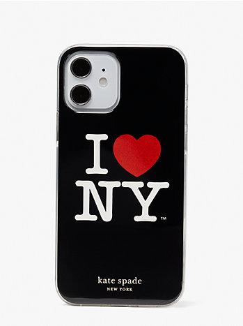 アイ ラブ ニューヨーク X ケイト スペード ニューヨーク アイフォン 12/12 pro ケース