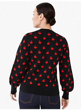 アップル トス ジャカード セーター