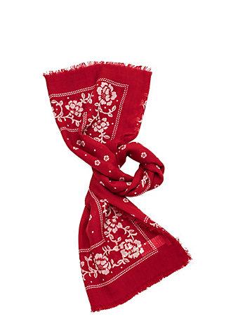 ウール バンダナ スクエア スカーフ