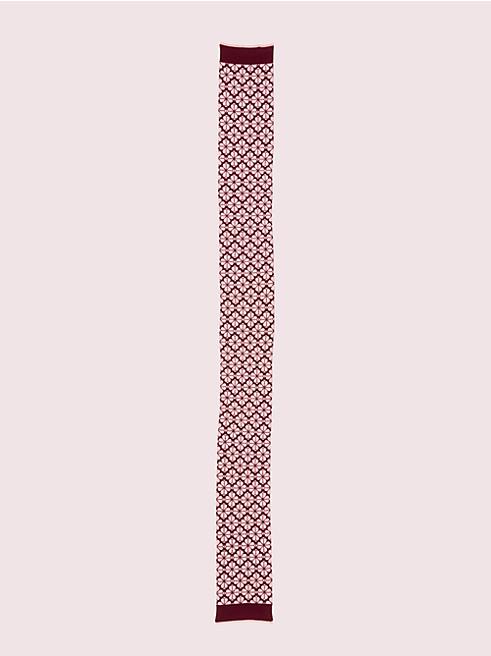フラワー スペード ニット スカーフ