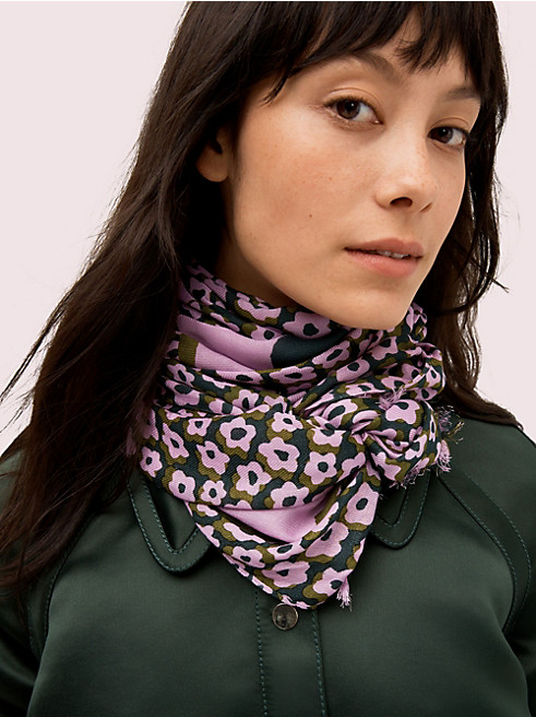 フレア フローラ オブロング スカーフ