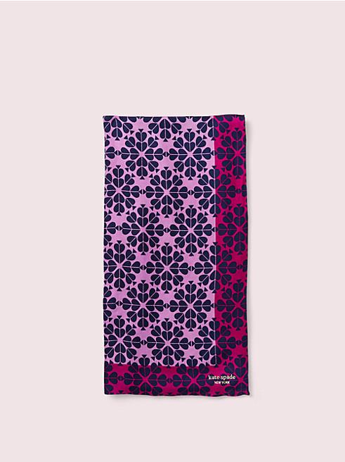 スペード ダマスク オブロング スカーフ
