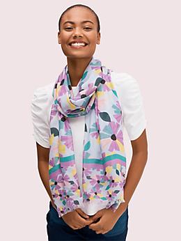 ウォールフラワー オブロング スカーフ