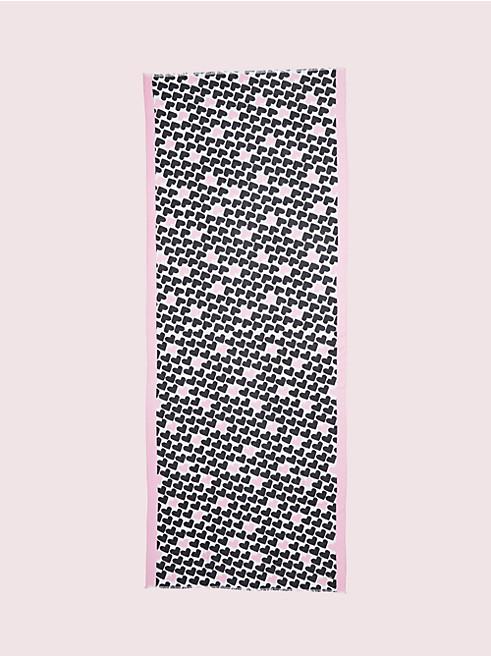 ポップ ハート オブロング スカーフ