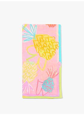 パイナップル スペード オブロング スカーフ