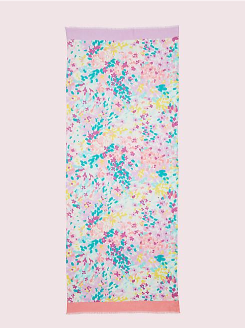 ペインテッド ペタル オブロング スカーフ