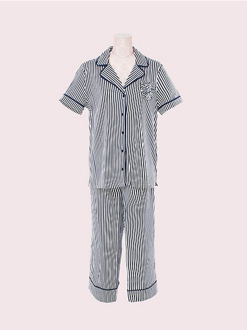 スリープウェア クロップ パジャマ セット