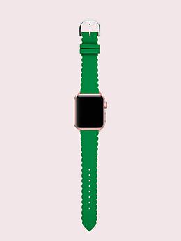 グリーン シリコン 38/40MM アップル ウォッチ ストラップ