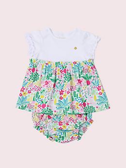 レイエット ガーデン ポジー ミックス ドレス ウィズ パンツ
