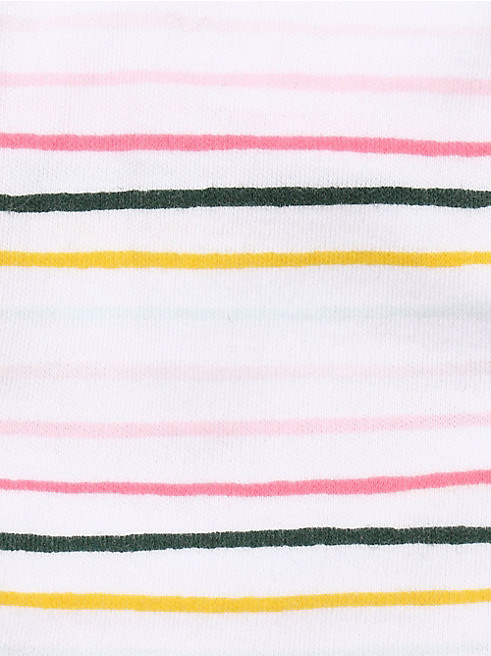 レイエット マルチ クレア ストライプ ティー & ブルマ スカート セット