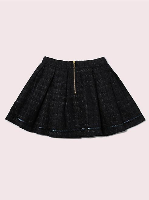 トドラー ツイード スカート