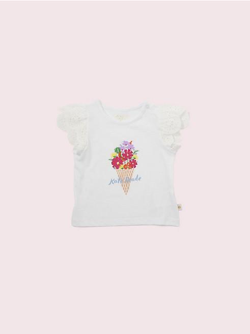 トドラー アイスクリーム ブーケ Tシャツ