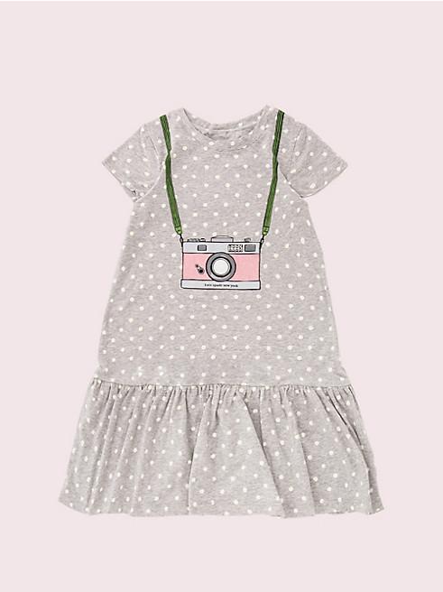 トドラー カメラ トロンプルイユ ドレス