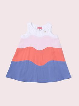 インファント カラーブロック ドレス ウィズ パンツ