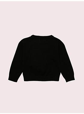 トドラー トロンプルイユスカーフ セーター