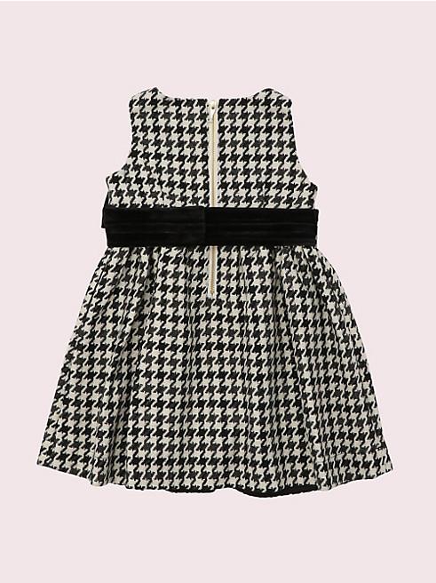 トドラー ハウンドトゥース ドレス