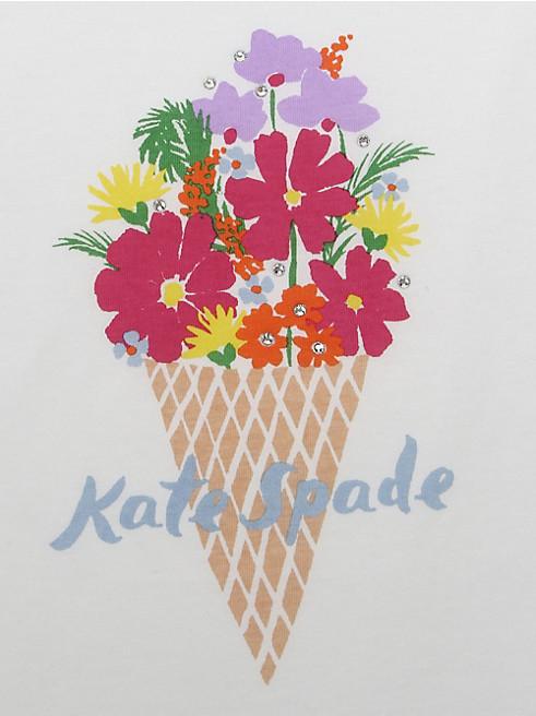 アイスクリーム ブーケ Tシャツ